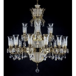 LUXURIOUS BRASS CHANDELIER L16002CE