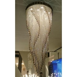 CRYSTAL CHANDELIER FLAME