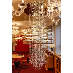 CRYSTAL CHANDELIER RAIN