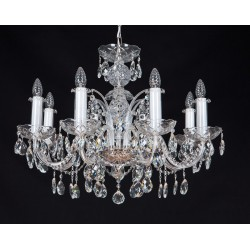 CRYSTAL CHANDELIER  EL102801-1 OLN
