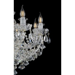 CRYSTAL CHANDELIER EL105806PB