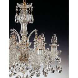 CRYSTAL CHANDELIER EL110641