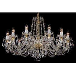 CRYSTAL CHANDELIER LLCH12NBN