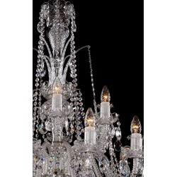 CRYSTAL CHANDELIER LLCH18